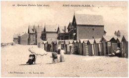 80 FORT-MAHON-PLAGE - Quelques Chalets (côté Droit) - Fort Mahon