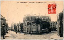 95 ARGENTEUIL - Grande Rue Et Rue Montmorency - Argenteuil