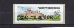 ????  **  Exposition Internationale D'histoire Postale Marcophilex XLIII Montrond-les-Bains  2019   04  25/41 - 2010-... Abgebildete Automatenmarke