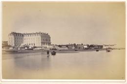 Kabinett Photo Bordeaux Gironde, Hotel Mit Strandpartie, Phot. J. Stoerk - Cartes Postales