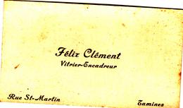 Carte De Visite Ancienne - Visiting Cards