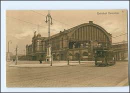XX005362/ Hamburg Bahnhof Dammtor  Straßenbahn AK 1906 - Eimsbuettel