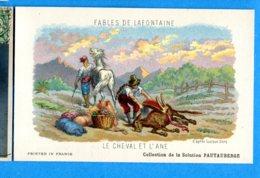 OLI366, Fables De La Fontaine, Le Cheval Et L'Ane, Horse, Gustave Doré, Solution Pautauberge - Fairy Tales, Popular Stories & Legends