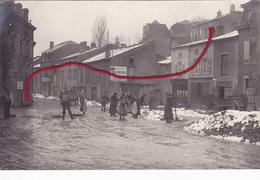 (54) - BRIEY Strassenreinigung Nettoyage Des Rues  Carte Photo Allemande 1° Guerre TOP !! - Briey