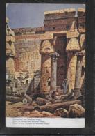 AK 0420  Perlberg , F. - Aegypten / Tempelhof Von Medinet Habu - Künstlerkarte Ca. Um 1910 - Perlberg, F.