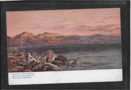 AK 0420  Perlberg , F. - Palästina / Abend Am Toten Meere - Künstlerkarte Ca. Um 1910 - Perlberg, F.
