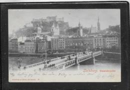 AK 0420  Salzburg - Staatsbrücke / Verlag Würthle & Sohn Um 1900 - Salzburg Stadt