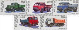 Belarus 1998 Transport Vehicles Trucks Michel 254-28 MNH - Belarus