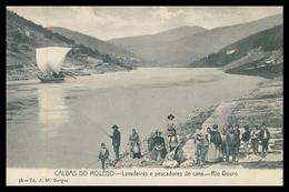 PESO DA RÉGUA -CALDAS DO MOLEDO -LAVADEIRAS - Lavadeiras E Pescadores De Cana.( Ed. J.M.Borges Nº 15) Carte Postale - Vila Real