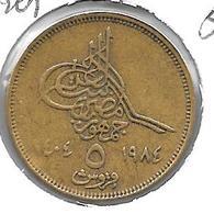 *egypte 5 Piastres 1984  Km 555.2  Xf+ - Egypte