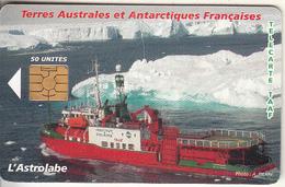 TAAF - 50eme Mission De Kerguelen, Chip GEM5, Tirage 1500, Used - TAAF - Terres Australes Antarctiques Françaises