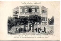ALGERIE - EKMUHL-ORAN - Maison De Convalescence Pour Les Légionnaires ..Croix Rouge Française - Scènes & Types