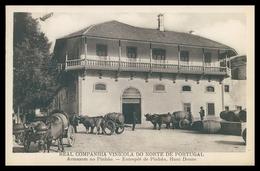 PINHÃO - VINICULTURA - Real Companhia Vinicula Do Norte De Portugal. Armazem No Pinhão.   Carte Postale - Vila Real