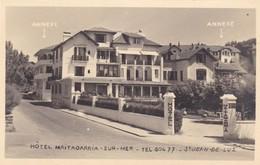 64. SAINT JEAN DE LUZ. .CPA. HOTEL MAITAGARRIA SUR MER - Saint Jean De Luz