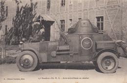 CPA - ESCADRON A.M.C. - AUTO MITRAILLEUSE - Guerre 1939-45