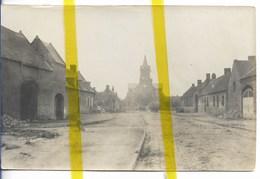 62 PAS DE CALAIS SAILLY EN OSTREVENT Canton BREBIERES  PHOTO ALLEMANDE MILITARIA 1914/1918 WK1 WW1 - Autres Communes