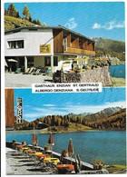 San Geltrude (Bolzano). Albergo Genziana - Tabellone Birra Forst. - Bolzano (Bozen)