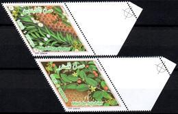 ALGERIA 2018 - 2v - MNH** Bees Bienen Abejas Api Abeilles Honey Bee Medicinal Plants Eucalyptus Jujube Insects Insekten - Abeilles