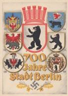 Deutsches Reich Propaganda Postkarte 1937 700 Jahre Berlin - Lettres & Documents