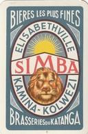 1 SPEELKAART KATANGA SIMBA ELISABETHVILLE - Playing Cards