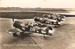 Fokker  D 21 : Eenpersoons Jachtvliegtuigen - 1939-1945: 2ème Guerre