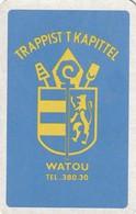 1 SPEELKAART WATOU KAPITTEL  TEL.380.30 - Playing Cards