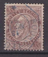 N° 49 TELEGRAPHIQUE BOURG LEOPOLD - 1884-1891 Leopoldo II