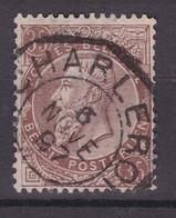 N° 49 TELEGRAPHIQUE CHARLEROI - 1884-1891 Leopoldo II