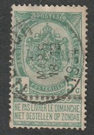 COB N° 56 Oblitération TILLEUR 1904 - 1893-1900 Fine Barbe