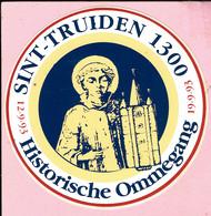 Sticker -  Sint Truiden 1300 - Historische Ommegang 1993 - Autocollants