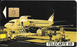 CARTE-PUCE-PRIVEE-PUBLIC- 50U-EN507-SO3-12/92-AEROPOSTAL-R°Mat-Utilisé-TBE-LUXE - Francia