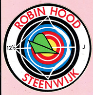 Sticker - ROBIN HOOD - STEENWIJK - 12 1/2 J - Autocollants