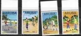 ARUBA, 2019, MNH, CHILDREN, GAMES, 4v - Childhood & Youth