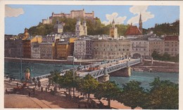 AK Salzburg - Staatsbrücke - Ca. 1910/20 (47077) - Salzburg Stadt
