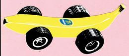 Sticker - Chiquita Banaan Als Race Auto - Autocollants