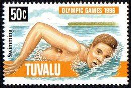 TUVALU 1996 - OLYMPIC GAMES ATLANTA '96 - SWIMMING - MINT - Swimming