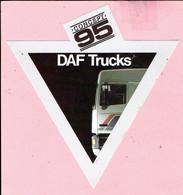 Sticker - CONCEPT 95 - DAF Trucks - Autocollants