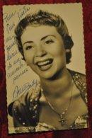 Annie Cordy Autographe Original - Artistes