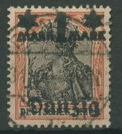 Danzig 1920 Germania Netzunterdr. Spitzen Nach U. 41 II Gest., Massenentwertung - Danzig