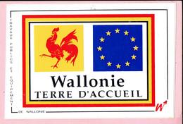 Sticker - Wallonie Terre D'Accueil - Autocollants