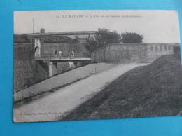 17 : ILE MADAME : Le FORT Où Sont ENFERMES Les DISCIPLINAIRES , Animé , CPA , En Bon état - France
