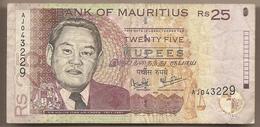 Mauritius - Banconota Circolata Da 25 Rupie P-49a - 1999 #18 - Mauritius