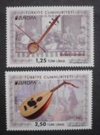 Türkei       Europa   Cept   Musikinstrumente    2014 ** - 2014