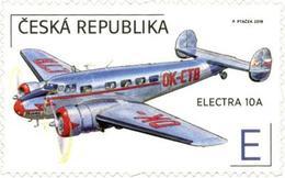 ** 1042 - 3 Czech Republic The World In Clouds 2019 Bata's Plane - Neufs