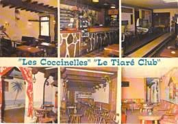 """56 - LORIENT : Bar """" LES COCCINELLES """" Et Le Dancing """" LE TIARE CLUB """" Bowling - Rue Foch - CPSM GF - Morbihan - Lorient"""