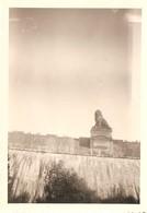 Photo Foto (6 X 9 Cm) La Gileppe Barrage Le Lion - Gileppe (Barrage)