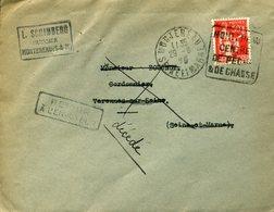 MONTEREAU 1935 Daguin DREYFUSS En 1994 Cote 50F N°MON323 CHASSE PECHE Retour à L'envoyeur Cachet Hexagonal VARENNES - Postmark Collection (Covers)