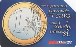 Italie : Pièce 1 Euro : 1° Gennaio 2002 Arriva La Moneta Unica. - Postzegels & Munten