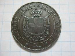 Tuscan 5 Centesimi 1859 - Regional Coins