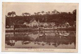 LAVAL --1939-- Les Bords De La Mayenne  à St Pierre  (animée,pêcheurs  ) .....................à Saisir - Laval